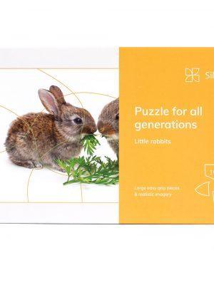 15-delna sestavljanka za vse generacije – Zajčki